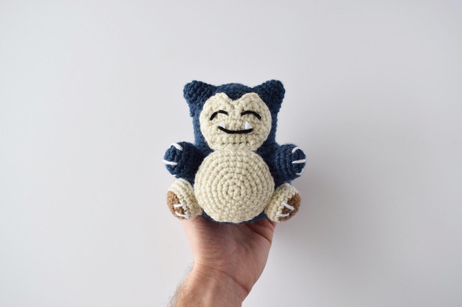 Snorlax Amigurumi Pattern - Knot Bad