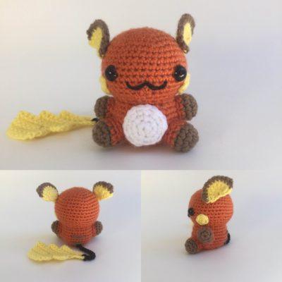 Crochet Raichu Pattern