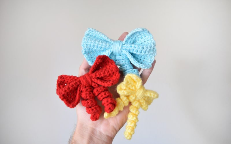 How to Create Your Own Crochet Bow!